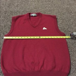 Monte Carlo Sweaters - Monte Carlo Magna Wool Burgundy Sweater Vest